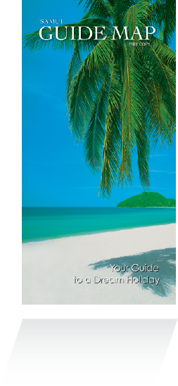 Samui Guide Map from Siam Map Co Ltd